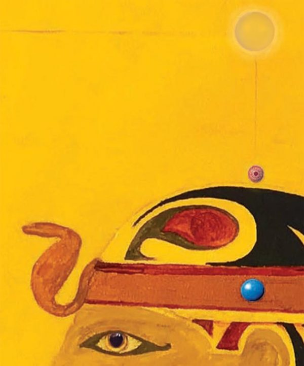 A meditação na Pérola Azul com a Esfinge